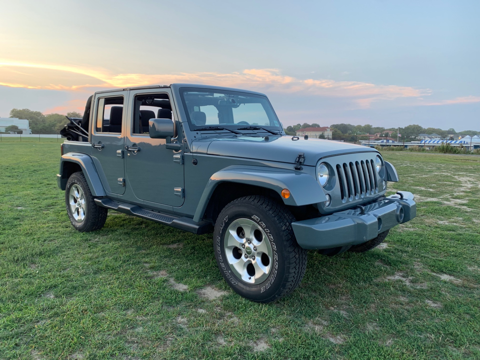 Used 2014 Jeep Wrangler Unlimited Sahara For Sale 26 900 Legend Leasing Stock 1917