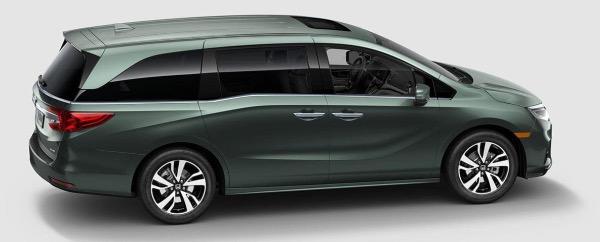 New-2021-Honda-Odyssey-EX