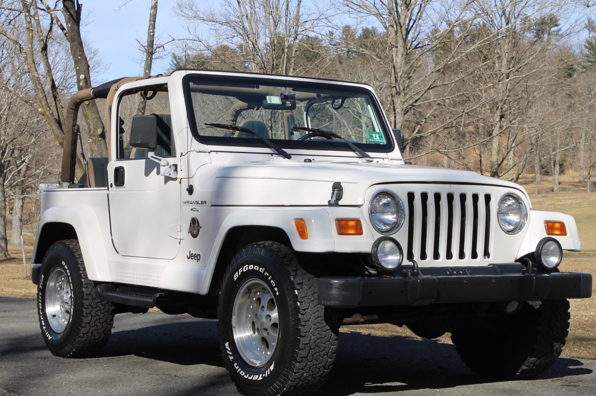 1999 Jeep Wrangler For Sale >> Used 1999 Jeep Wrangler Sahara For Sale 10 900 Legend Leasing