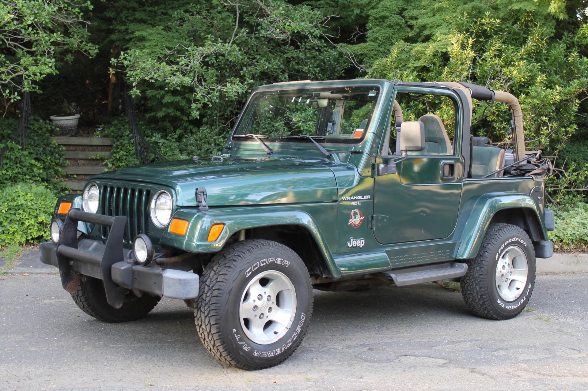 Used 1999 Jeep Wrangler Sahara Sahara For Sale   8 900